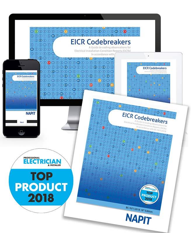 EICR Codebreakers Hard Copy + Digital Edition Bundle | NAPIT